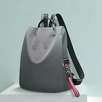 Women's Water Resistant Nylon Ribbon Backpack Rucksack Daypack Travel Bag Purse