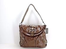 Guess Brady Flap Shoulder Bag Hobo Handbag $110 Brown New! NWT