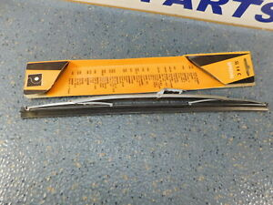 """Triumph  Hillman  Ford  Mazda Morris   14"""" Wiper Blade  Stainless 1/4"""" tang"""