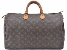 Authentic Louis Vuitton Monogram Speedy 40 Hand Bag M41522 LV A8006