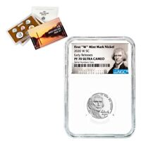 2020-W Jefferson Nickel NGC PF 70 ER Jefferson Label w/ 2020-S US Mint Proof Set