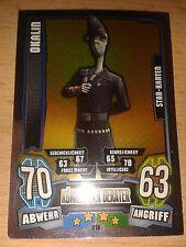Force Attax Star Wars Serie 4 Star Karte 218 Okalin Sammelkarte Trading Card