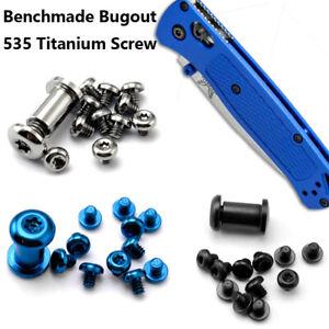 Replacement Titanium Screws Alloy Spindle Set Mount Screws for Bugout 535