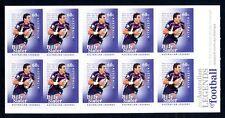 2012 Australian Football Legend (Billy Slater) Stamp Booklet SB396 (Gen Barcode)