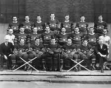 Montreal Canadiens 1945-46 NHL Season Team 8x10 Photo