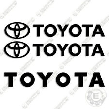 Toyota Forklift Equipment Decals - Any Color