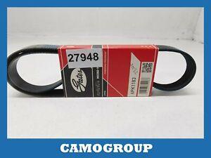 Belt Service V-Ribbed Belt GATES Alfa Romeo Mito Fiat 500 Ducato Grand Punto