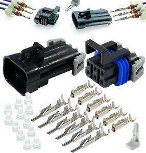 10 pieces Automotive Connectors 2P MALE BLACK 150 SERIES 14 AMPS