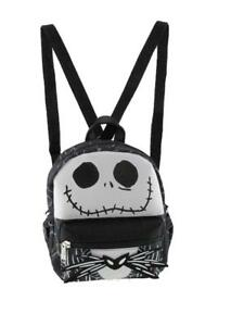 "Nightmare Before Christmas Jack 8"" Small 2-in-1 Cross-body bag/ Mini Backpack"