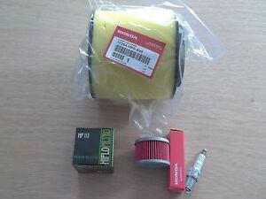 OEM Honda Air + Oil Filter Tune up kit TRX500 TRX 500 Fourtrax Foreman FE FM