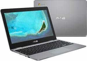 """ASUS - 11.6"""" Chromebook - Intel Celeron - 4GB Memory - 32GB eMMC Flash Memory"""