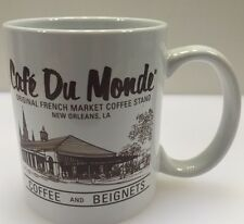 Cafe Du Monde Coffee and Beignets Mug Cup New Orleans Louisiana LA French Market