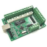 MACH3 CNC Breakout Board USB 100KHz 5-Axis Interface Driver Motion Controller #T