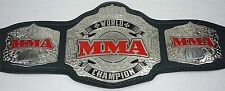REPLICA MMA WORLD CHAMPIONSHIP Gürtel Belt ADULT SIZE *METALL* ufc pridefc wwe