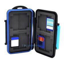SD SDHC MC-SD8 Memory Card Holder Hard Storage Case Waterproof Anti Shock Box