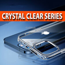 CRYSTAL Clear GEL Case iPhone 12 Pro,12 Pro Max,Mini Silicone Ultra Thin Cover