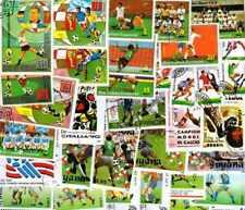 Football 1000 timbres différents oblitérés