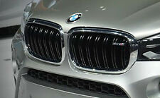 BMW 2014+ F15 F85 X5 M OEM Genuine X5 M Front Grille Pair Brand New