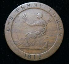 Great Britain 1812 Penny Token-Conder-Sheffield-Hobson & Sons Button Manufacture