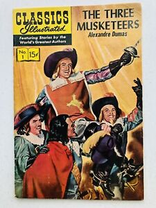 Classics Illustrated The Three Musketeers #1 1969