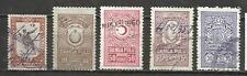 8385A-LOTE ANTIGUOS RAROS SELLOS TURQUIA TURKEY REVENUE,FISCALES,TIMBRES,classic