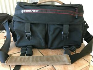 tamrac pro camera bag. This bag will hold 2 slr bodies and multiple lenses.