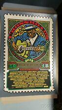 Crossroads Guitar Festival 2013 Screen Print Poster Ron Donovan #'d xx/600