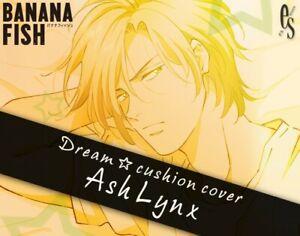 Ash Lynx Banana Fish Dream Cushion Cover [Kotobukiya Limited Edition] Japan PSL
