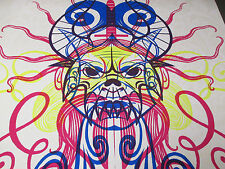 2006 ACID MOTHERS TEMPLE Silkscreen Poster VF S/N #10/42 Pedalini 23x31
