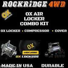 Ox Air Locker WITH Air Compressor Kit for DANA 30 3.73 & UP Ratio 27 SPLINE Jeep