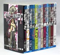 JAPAN Death Note Manga 1~12 Complete Set Takeshi Obata Book COMIC