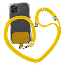 Universal Crossbody Nylon Patch Phone Lanyards Rope Mobile Phone Strap Lanyard
