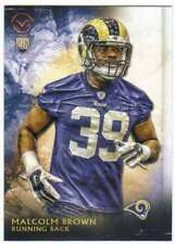 2015 Topps Valor Football RC #104 Malcolm Brown  St. Louis Rams