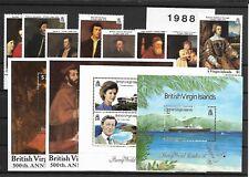 British Virgin Islands @ MNH Sets 1988   Nice prized @ Vir.30