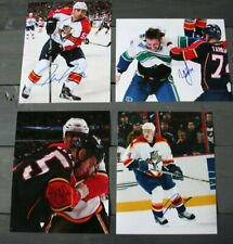 Lot of4 Signed Florida Panthers 8x10 Photos  Garrison Tarnasky Allen Bouwmeester