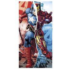 Marvel Avengers Boys Towel for Beach Bath & Swimming 100 Cotton - 60x120 Cm