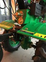 Cultivator Tiller Walk-behind Tractor 900 7.5HP 5,5kW with wheels and ploughs
