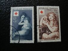 FRANCE - timbre yvert et tellier n° 1006 1007 obl (A5) stamp french (Z)