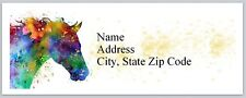 Personalized Address Labels Western Horse Buy 3 get 1 free (bx 603)