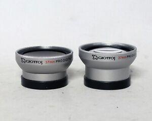 Giottos Pro Digital Precision 2x Telephoto Wide Angle 37mm DSLR High Definition