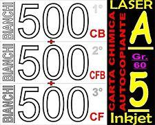 1500 FOGLI DA 3 COPIE CARTA CARBONE CHIMICA X STAMPANTI LASER E INKJET A5 BIANCA