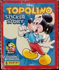 PANINI TOPOLINO STICKER  STORY Scatola da 50 Buste + Album Brossura