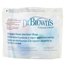 Dr Brown's Baby/Enfant/Kids Nourriture/Alimentation Micro-ondes Stérilisateur Sacs