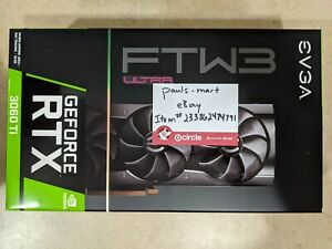 EVGA GeForce RTX 3060 Ti FTW3 ULTRA GAMING 8GB GDDR6 - 08G-P5-3667-KR *IN HAND*