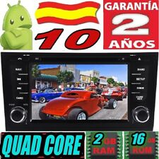 """ANDROID 10 AUDI A6 S6 RS6 1997-2004  RADIO COCHE DVD GPS CAR USB 7"""" HD WIF AUTO"""