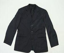 New Boston Mens Blue Striped  Jacket Suit Jacket Size 36