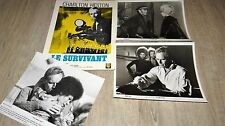 LE SURVIVANT ! charlton heston  rare photos presse argentique cinema 1971