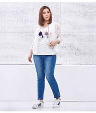 Unbranded Nylon Plus Size Tops & Blouses for Women