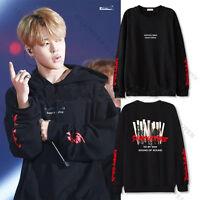 Kpop  BTS JIMIN Sweater Hoodie Bangtan Boys Pullover Sweatershirt Young Forever