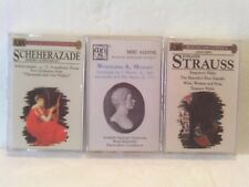 3 CLASSICAL MUSIC TAPE ALBUMS NEW/SEALED EX!